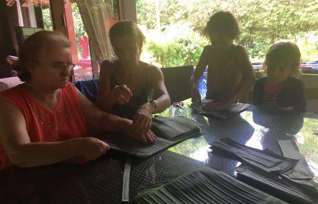 Basteln in Thailand